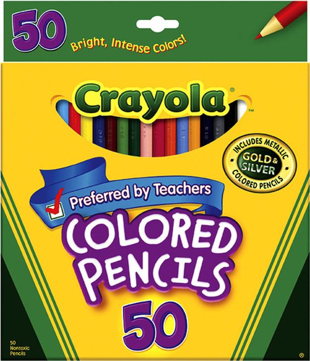 Crayola Colored Pencils 50/Pkg
