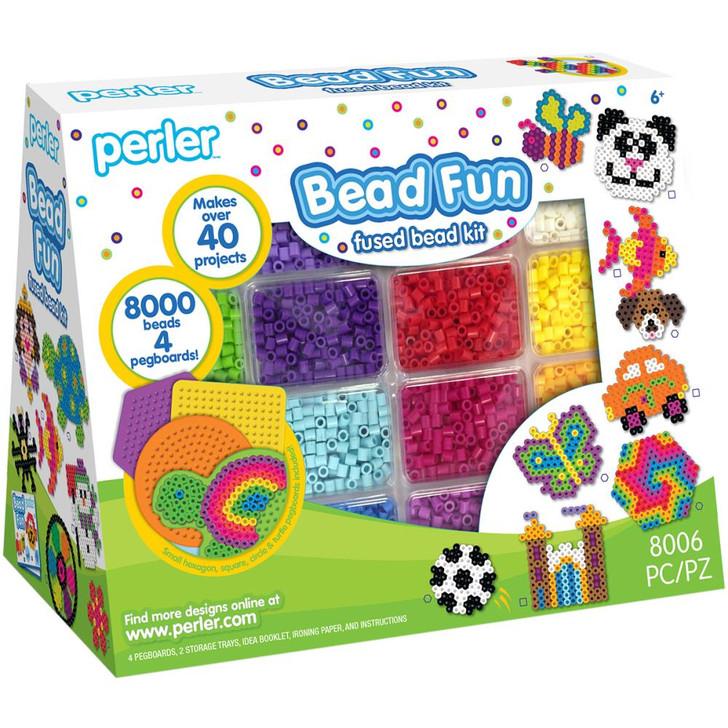 Perler Bead Fun Fused Bead Kit