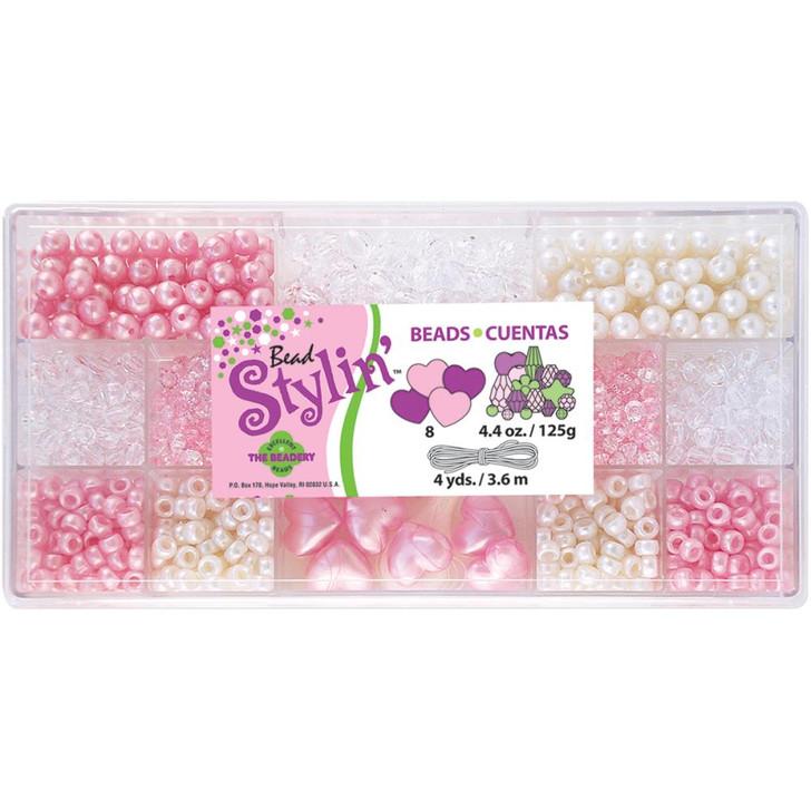 The Beadery Bubble Gum Bead Stylin' Bead Box Kit