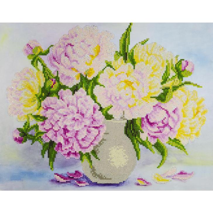 Leisure Arts Diamond Art Advanced Kit - Bouquet Flowers