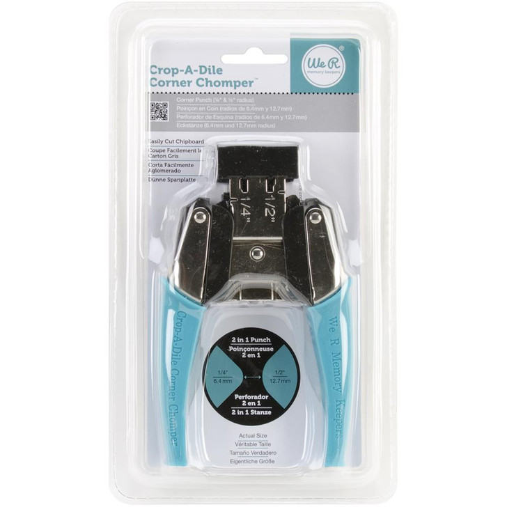 We R Memory Keepers  Crop-A-Dile Rounded Corner Chomper Tool