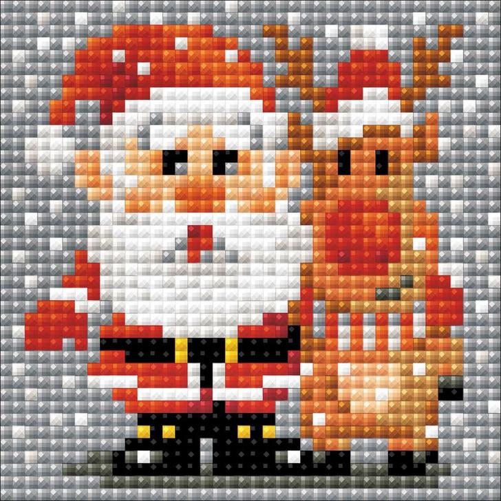RIOLIS Diamond Mosaic Santa Claus Kit