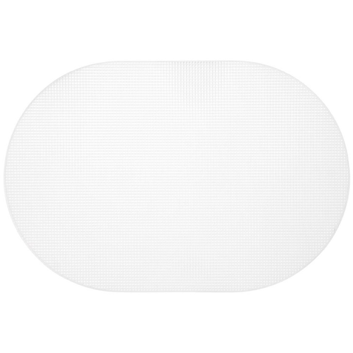 """Cousin Plastic Canvas Oval - 7 Count 12""""X17.5"""""""