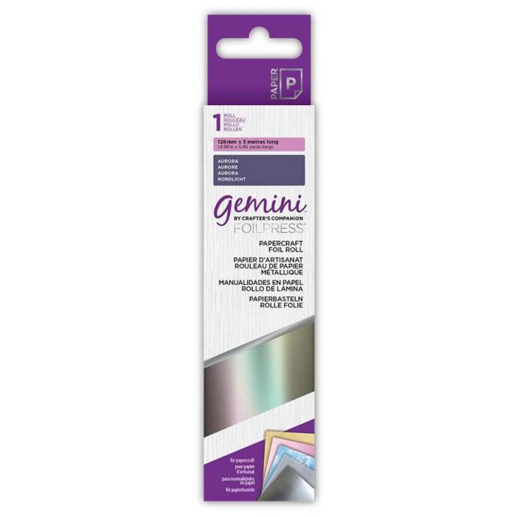 Gemini FoilPress Papercraft Foil Roll - Aurora