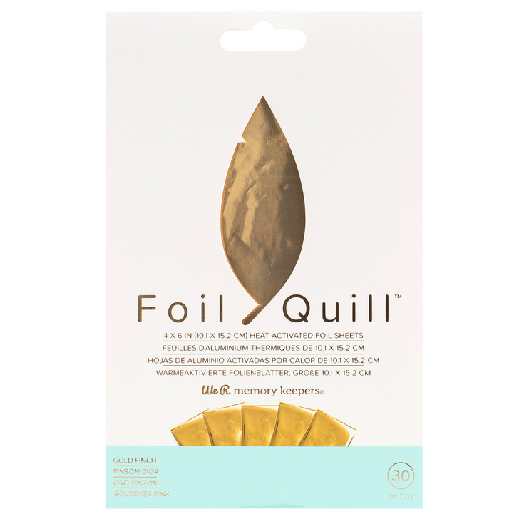We R Memory Keepers Foil Quill Foil Sheets
