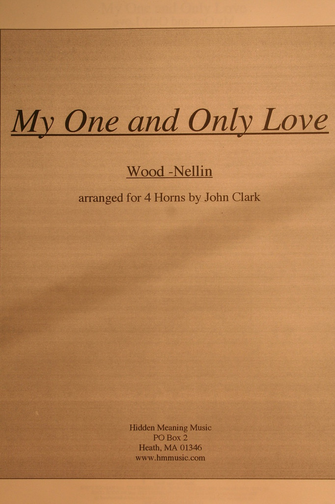 Clark, John - My One and Only Love