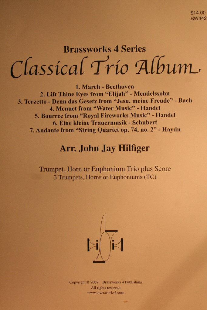 Traditional - Classical Trio Album