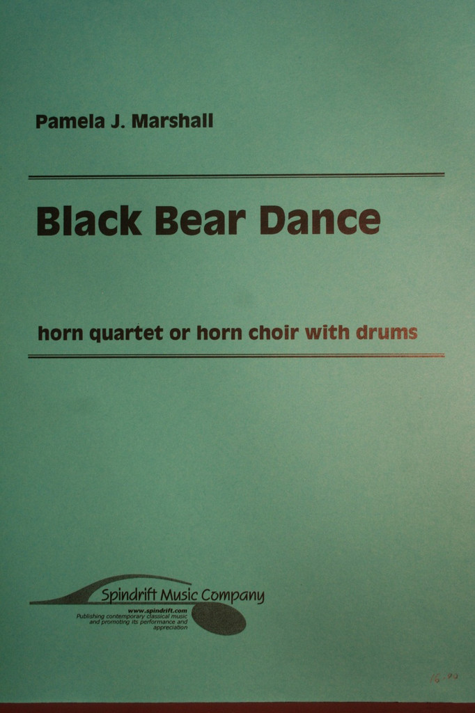 Marshall, Pamela J. - Black Bear Dance