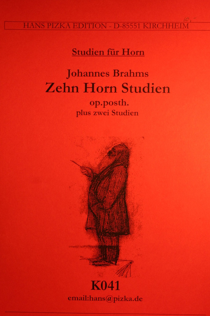 Brahms, Johannes - Horn Studies (Op. Posthumous)