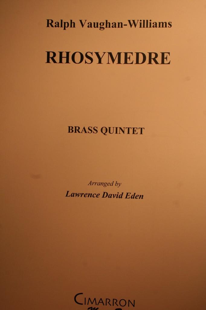 Vaughan-Williams, Ralph - Rhosymedre