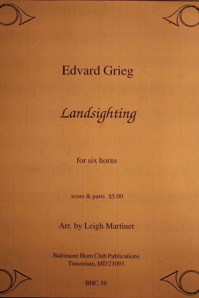 Grieg, Edvard - Landsighting