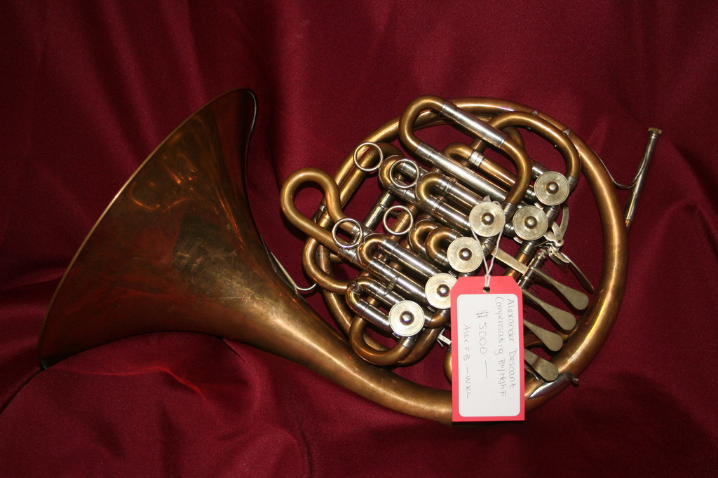 Alexander Compensating Descant Bb/High F- $5000