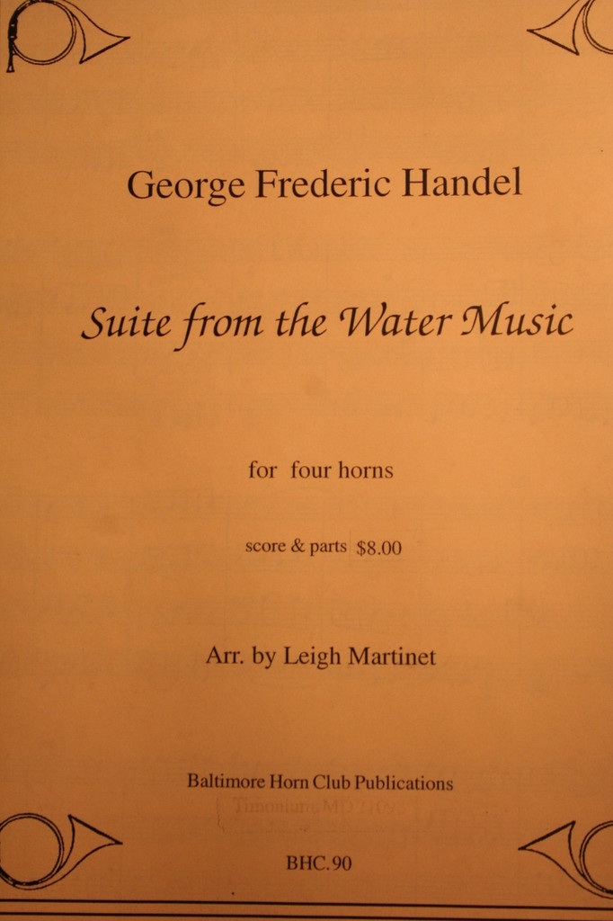 Handel - Suite From The Water Music (arr. Leigh Martinet)