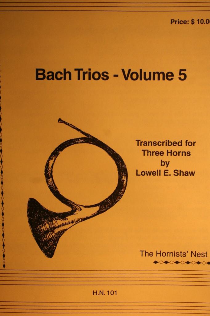 Bach, J.S. - Bach Trios, Vol. 5