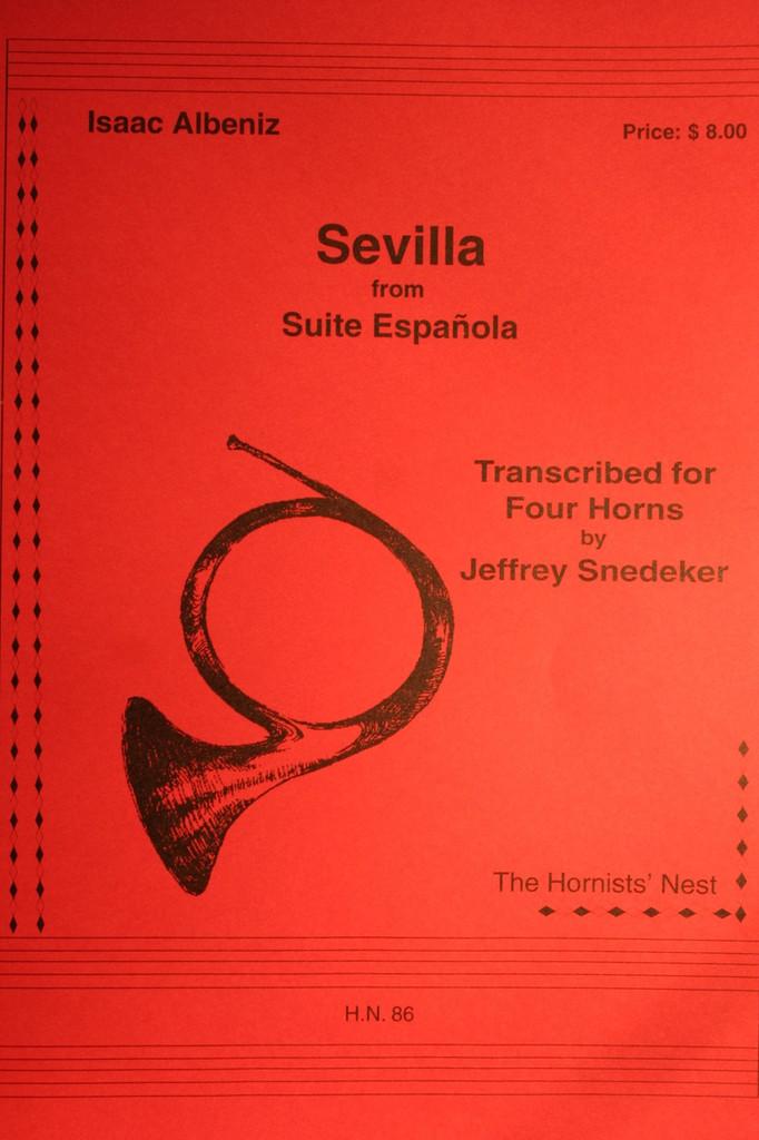 Albeniz - Sevilla from Suite Espanola
