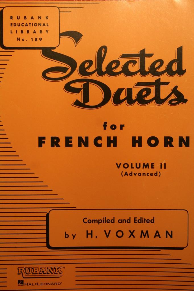 Voxman - Duets Volume 2 (Advanced)