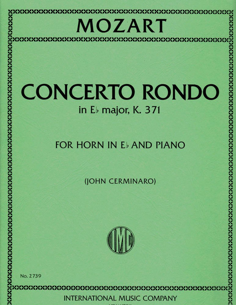 Mozart, W. A. - Concert Rondo in E-Flat Major (K. 371) (image 1)