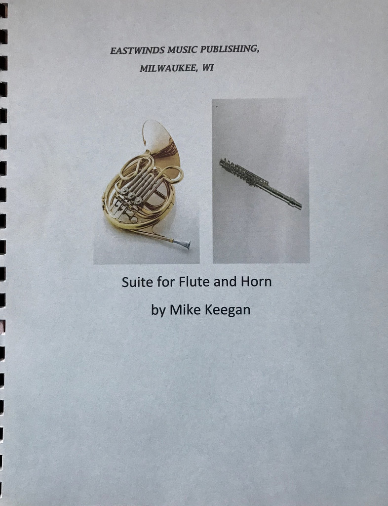 Keegan, Mike - Suite for Flute and Horn