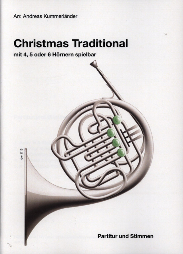 Kummerlander, Andreas - Christmas Traditional for Four, Five or Six Horns
