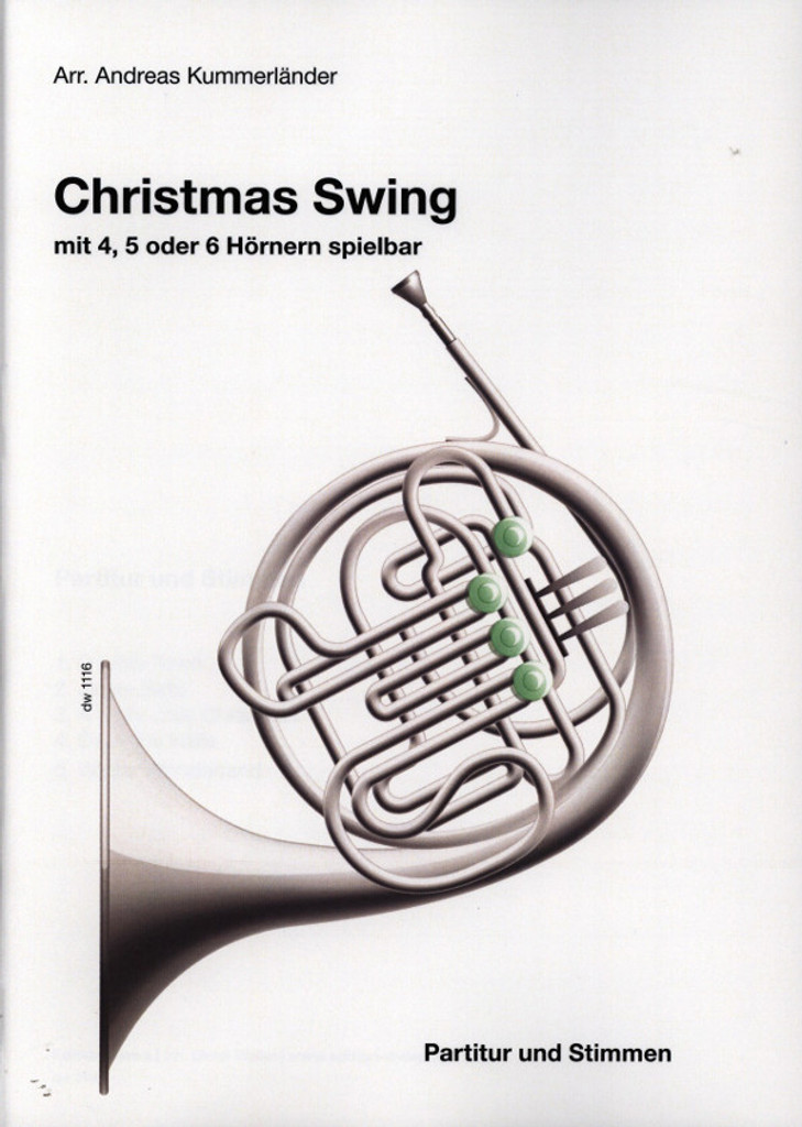 Kummerlander, Andreas - Christmas Swing for Four, Five or Six Horns