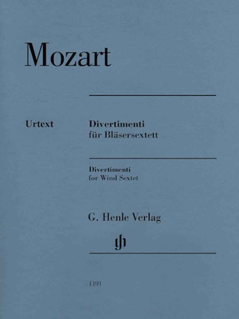 Mozart, W.A. - Divertimeni for Wind Sextet