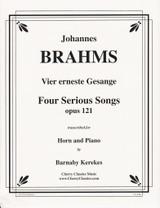 Brahms, J.S. - Four Serious Songs, Op. 121 (image 1)