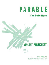 Persichetti, Vincent - Parable For Solo Horn (image 1)