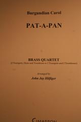 Trad. Burgundian Carol - Pat-A-Pan (Brass Quartet)