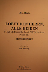 Bach, J.S. - Lobet Den Herrn, Alle Heiden