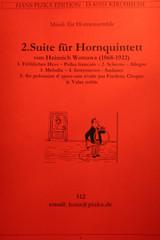 Wottawa, Heinrich - Suite For Horn Quintet, No. 2