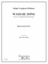 """Vaughan-Williams, Ralph - Wassail Song From """"5 English Folk Songs"""" (image 1)"""