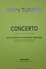 Turner, Kerry - Concerto for Low Horn (image 1)