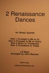 Bach, J.S. - 2 Renaissance Dances