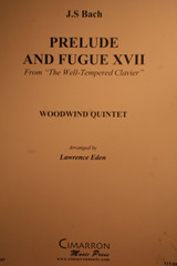 """Bach, J.S. - Prelude & Fugue XVII (From """"The Well-Tempered Clavier"""")"""