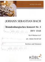 Bach, J.S. - Brandenburgisches Konzert Nr. 3. BWV 1048