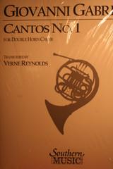 Gabrieli, Giovanni - Cantos No.1