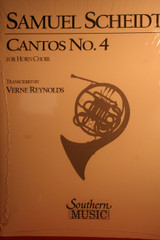Scheidt, Samuel - Cantos No. 4
