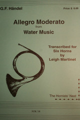 "Handel, G.F. - Allegro Moderato (from ""Water Music"")"