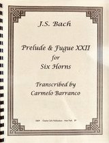 Bach, J.S. - Prelude and Fugue XXII
