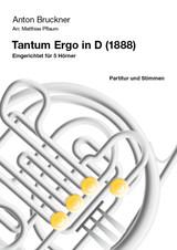 Bruckner, Anton - Tantum Ergo in D (1988) arranged by Matthias Pflaum
