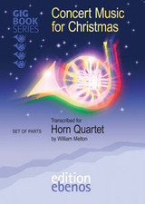Concert Christmas Music for Horn Quartet