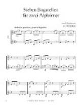 Beethoven, L. - Seven Bagatelles for Two Alphorns
