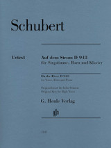 Schubert - On the River, D. 943 for High Voice, Horn and Piano, Urtext