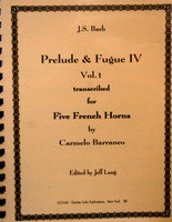 Bach, J.S. - Prelude and Fugue IV Vol. 1