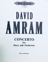 Amram, David - Concerto for Horn and Orchestra (image 1)