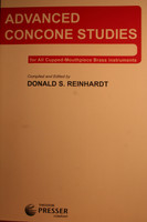 Concone, Giuseppe - Advanced Concone Studies