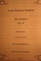 Dauprat, Louis Francois - Six Sextets, Op. 10