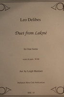 Delibes, Leo - Duet from Lakme