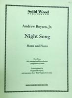 Boysen, Andrew, Jr. - Night Song (image 1)