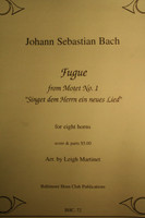 "Bach, J.S. - Fugue (from ""Motet No. 1"")"